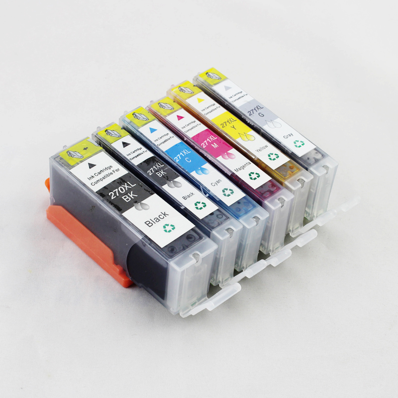PGI-270 CLI-271 Ink Cartridge For Canon PGI270 CLI271 PIXMA MG7720 MG5720 MG5721 MG5722 MG6820 MG6821 MG6822 pgi 425 cli 426 ink cartridge for canon pgi425 cli425 pixma ip4840 ip4940 mg5240 mg5340 mg5140 mx714 mx884 mx894 ix6540