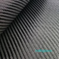 Grade A 3K 220gsm 2x2 Twill Real Carbon Fiber Cloth Carbon Fabric 40 100cm Width
