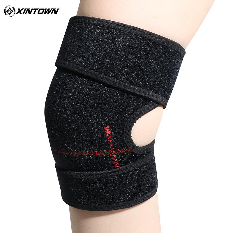 1pcs Outdoor Sports Black Leg Protector Kneepad Prevent Injury Running Hiking Playing Basketball Cycling Kneepad Gloves Ciclismo