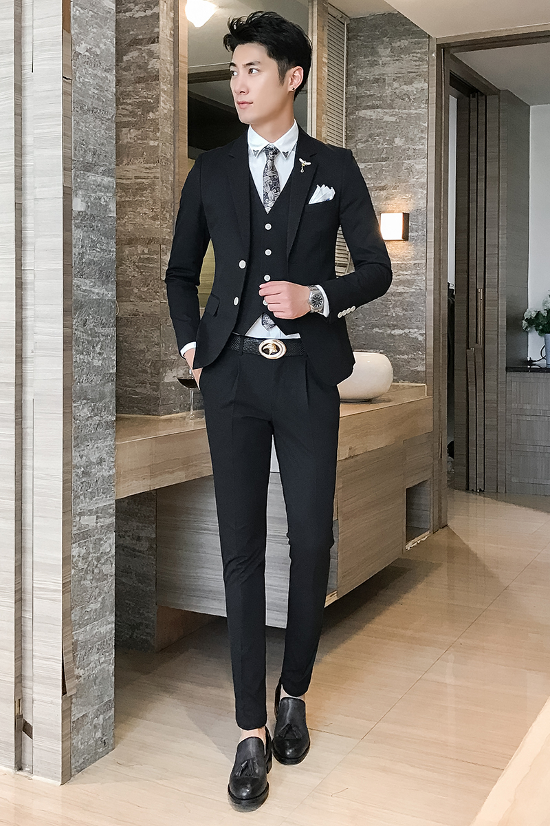 Lovely Slim Fit Prom Suits Images - Wedding Dress Ideas - sagecottage.us