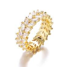 Bettyue модные классические но искрящие циркониевые кольца aaa