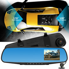 Car DVR Backup Camera 1080P HD Car Dash Camera Dual Cam Vehicle Front Rear DVR Lens Video Recorder For mersedes for Honda 2019(China)