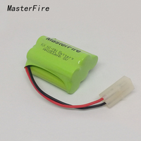 2pack Lot Brand New 6V AA 1800mAh Ni MH Battery Rechargeable Batteries Pack Free Shipping