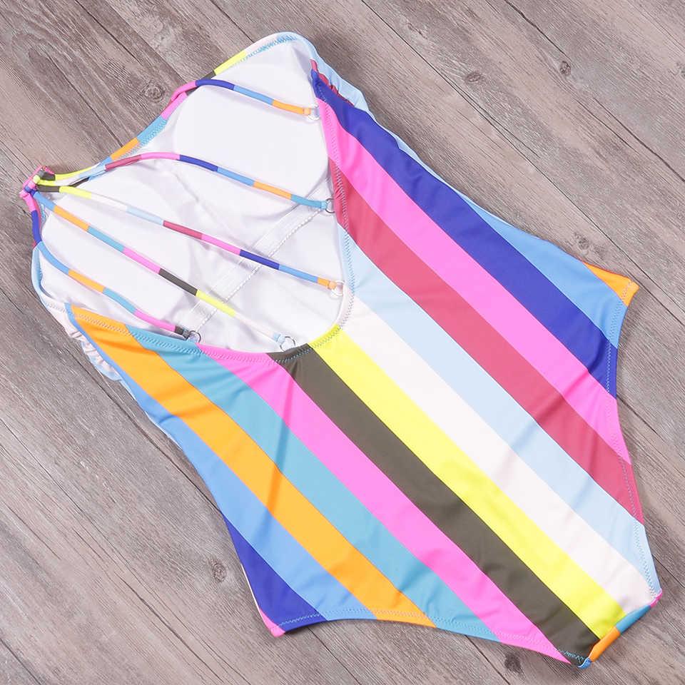 Nakiaeoi 2019 Nuovo Sexy di Un Pezzo Del Costume da Bagno Estate Costumi da Bagno Delle Donne Una Spalla Della Banda Costumi da Bagno Costumi da Bagno Monokini Costumi da Bagno