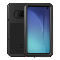 360 Full Body Case For Samsung Galaxy S10Plus S10 5G Case Armor Hard Shockproof Metal Cover For Samsung S9 Plus Case Luxury