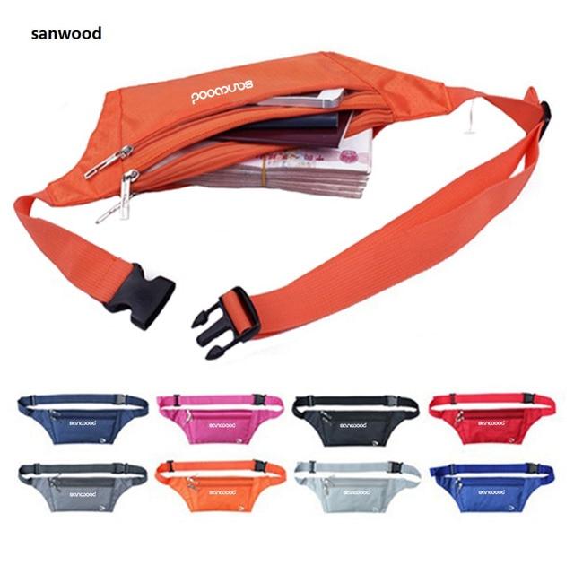 Men Bum Bag Travel Handy Fanny Pack Waist Bag Zip Pouch Retail/Wholesale 5QPB