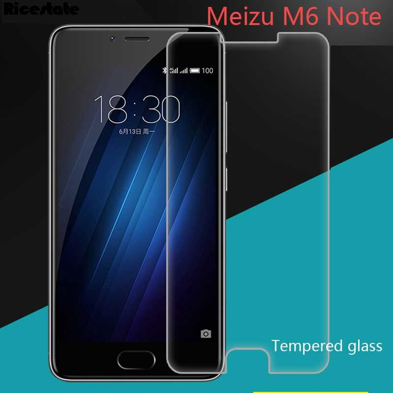 2.5D 9 H Gehard Glas Voor Meizu M6 Note Screen Protector Cover Meizu M6 Note Glas Meizu Meilan Note 6 anti-scratch Film