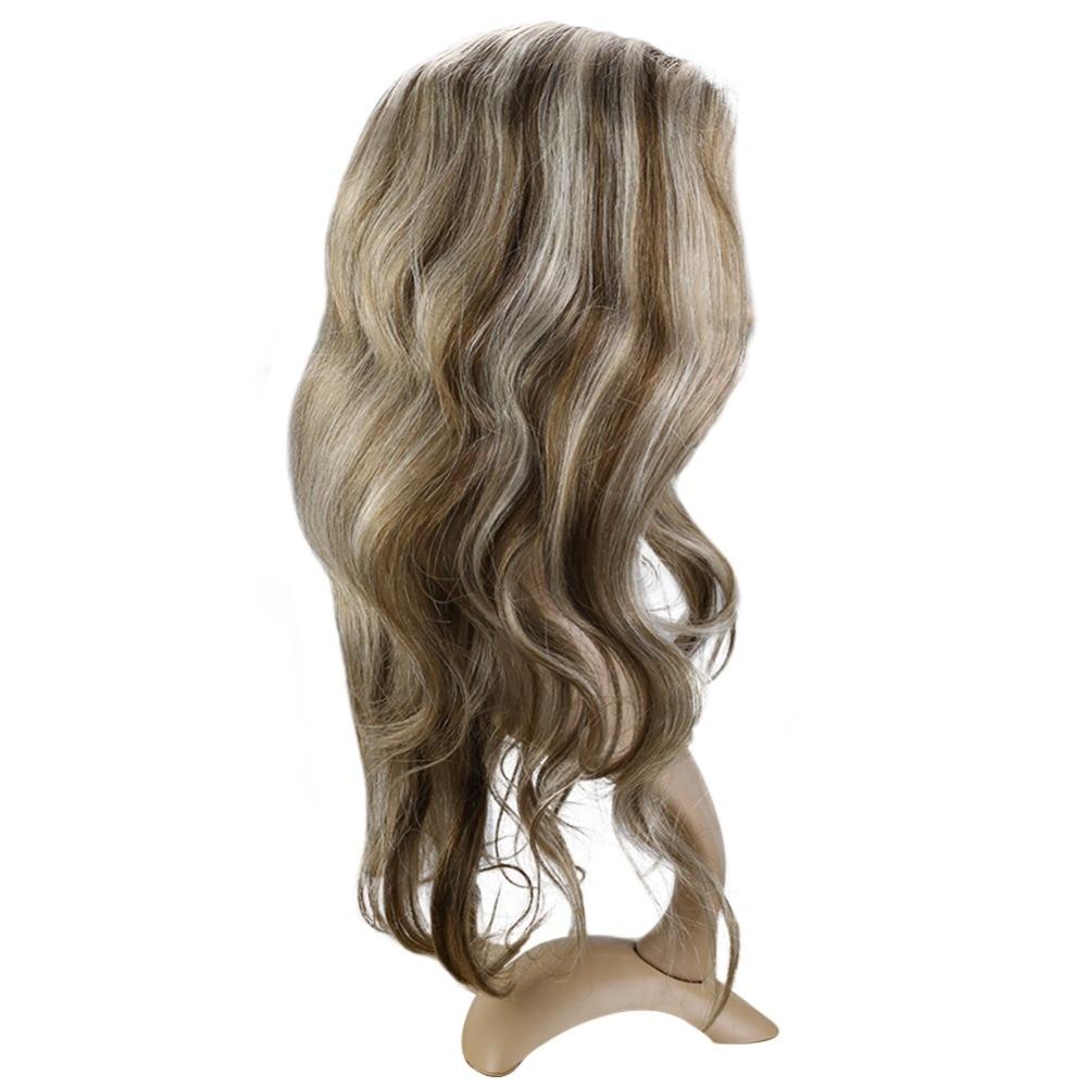 Фулл Схине Балаиаге чипка предња коса - Људска коса (за белу) - Фотографија 3
