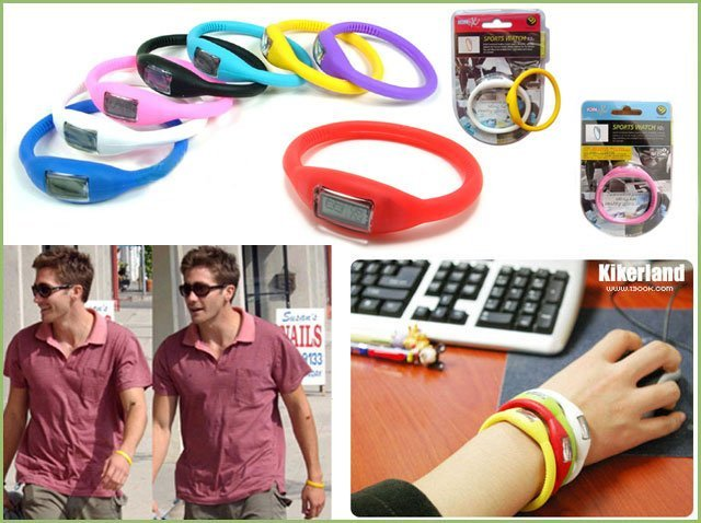 Special offer!Silicone watch!50pcs/lot&Free shipping&Wrist watch&power energy silicone bracelet S1