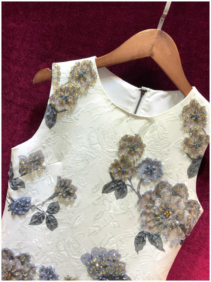 Verão Vintage luxo Vestidos 3