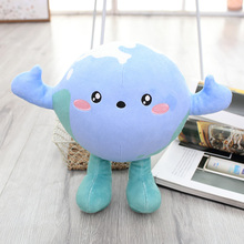 Earth Planet Stuffed Toys Girls Boys Cartoon Plush Toy for Children Birthday Gift Girl Dolls Boy Kids Doll