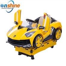 Детское игровое Гоночная машина с управлением с помощью монетного Pumpkin Car детский игровой автомат для малышей едет детская Автоматическая качалка
