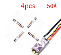4PCS Flycolor X Cross BL 32 Bit 50A Brushless ESC 3 6S Dshot 1200 High Current Electric Speed Controller Regulator fr FPV Racing