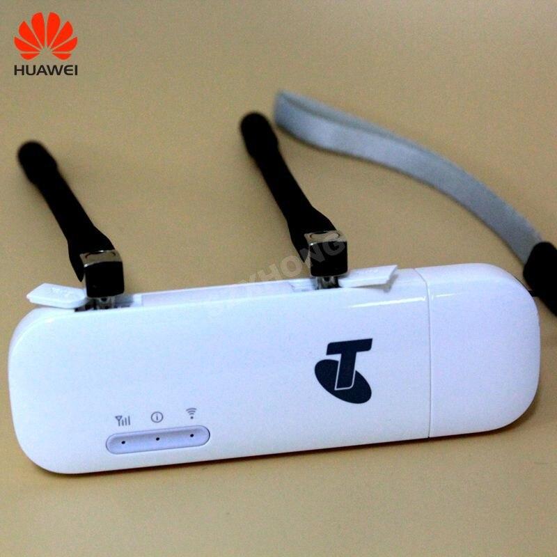 Huawei USB modem wifi E8372 E8372h-608 4G LTE dongle wifi USB 4G modem USB plus une paire de livraison antenne 4G carfi PK E8377 - 2
