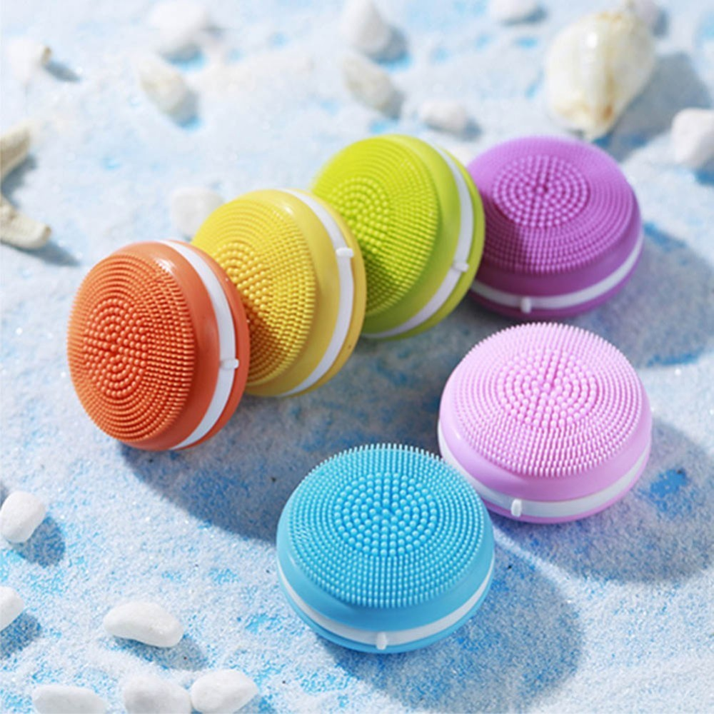 Mini Electric Facial Cleaning Massage Brush Washing Machine Waterproof Silicone Facial Cleansing DeviceMini Electric Facial Cleaning Massage Brush Washing Machine Waterproof Silicone Facial Cleansing Device
