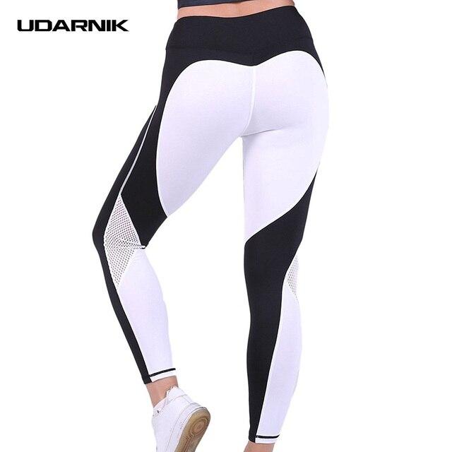 b316fb55186f6e Heart Shaped Yoga Pants Women Fitness Slim Gym Yoga Leggings Sexy Cute Hips  Push Up Mesh Sport Running Tights Sportswear 043-790