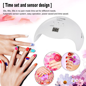 Image 4 - Abody SUN X 40W/54W/80W UV Lamp LED Ice Lamps Nail Gel Polish Dryer Manicure Machine for SUNone all gel nails Art Curing X9plus