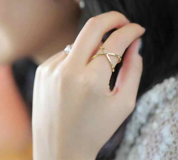 R027 New Fashion gold color Exquisite Noble Cute pearl ring fashion ring adjustable Free shipping Fashion Jewelry