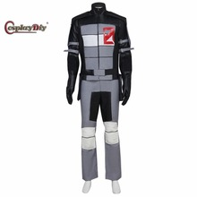 Cosplaydiy Borderlands 2 Zero Cosplay Costume Adult Men's Halloween Carnival Cosplay Outfit Custom Made