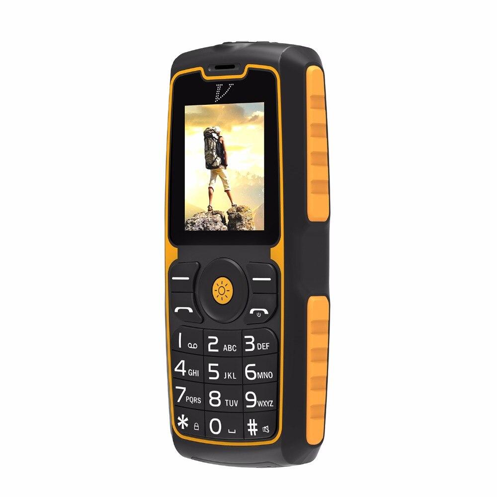 DTNO 1 A11 Rugged Daily Waterproof Shockproof phone IP67 Flashlight Power Bank 1 77 1300mAh Dual
