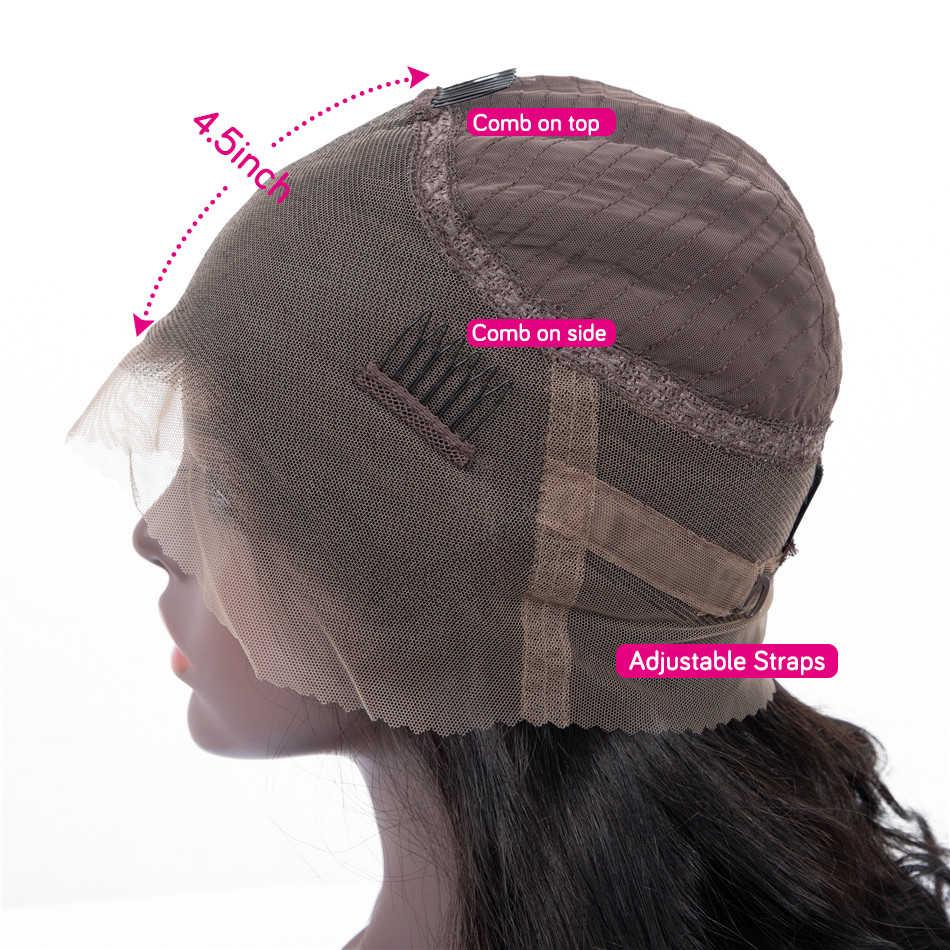 360 peruca frontal do laço quente estrela malaio em linha reta perucas de cabelo humano pré arrancadas com o cabelo do bebê glueless perucas de cabelo humano remy 150%