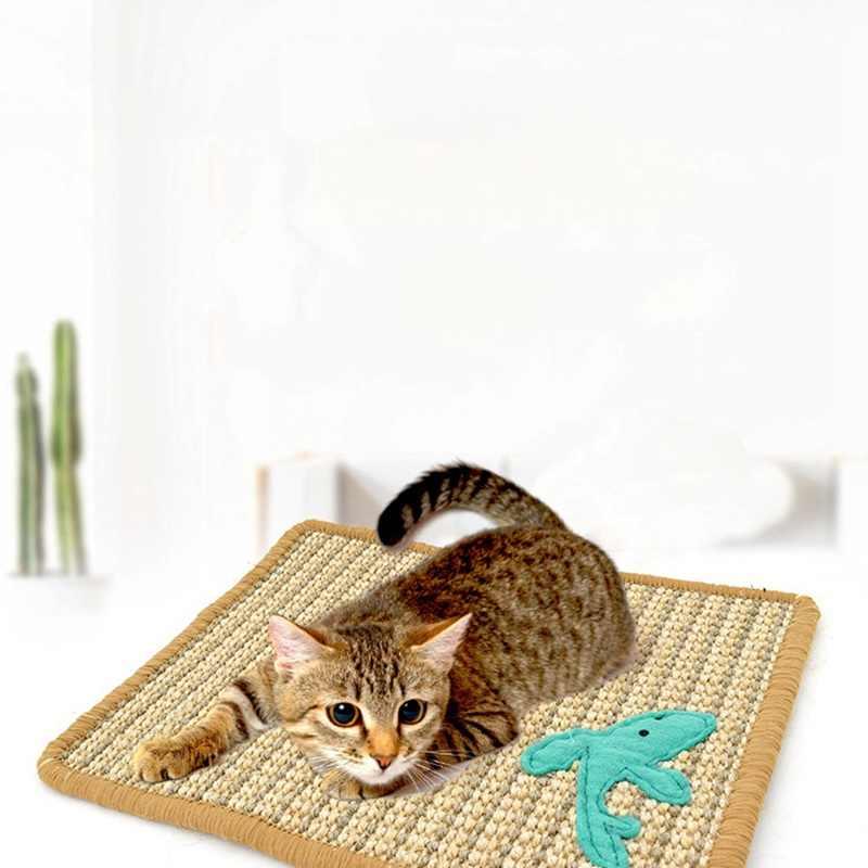 Прочный Когтеточка для когтеточки Когтеточка для котов коврик-Когтеточка для кошек