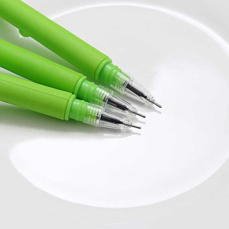 1Pcs Gel Stift Nette Stift Qualität Stationäre Kawaii Schule Liefert Gel Ink Pen Schule Stationäre Büro Lieferanten Stift Geschenk