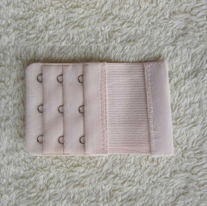 Panie elastyczna 3 haczyki biustonosz pasek Extender hak klip idealne regulowany pasek klamra biały czarny czerwony itp