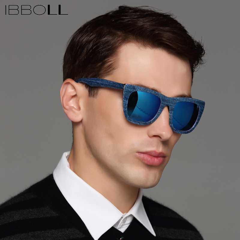 6113af0184 ibboll Fashion Cool Wrap Sunglasses Men Polarized Sun Glasses For Male  Vintage Round Glasses Luxury Brand Mens Oculos De Sol -in Sunglasses from  Apparel ...