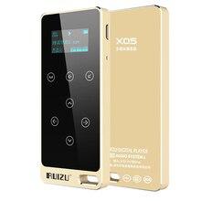 Original RUIZU X05 HI-FI Reproductor de MP3 8 GB Táctil Botón de Sonido Sin Pérdidas de 1.1 pulgadas de Pantalla de la Ayuda FM, Grabación E-Book Reproductor de música