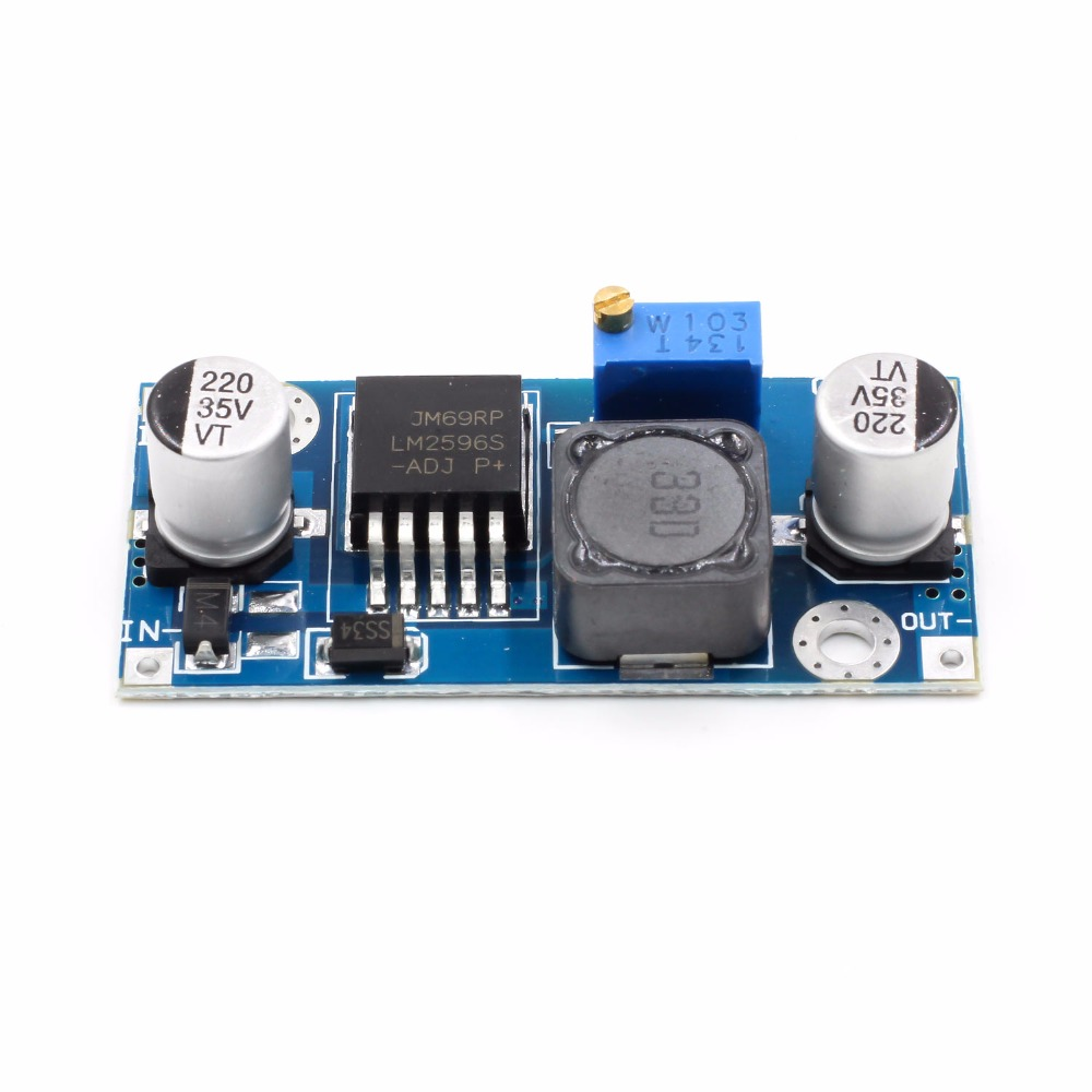 1.23V-30V DC-DC Buck Converter Step Down Module LM2596 Power Supply Output dc-dc step down