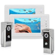 DIYSECUR 7 inch TFT Color LCD Display Video Door Phone Video Intercom Doorbell 700TVLine HD IR Night Vision Camera 2V2