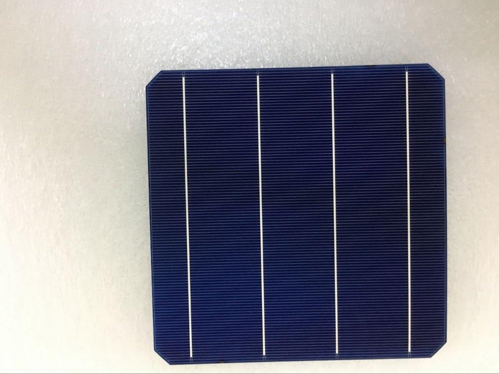 40 Pcs 5W Pcs Monocrystalline Solar Cell 156 75 156 75mm For DIY Photovoltaic Mono Solar