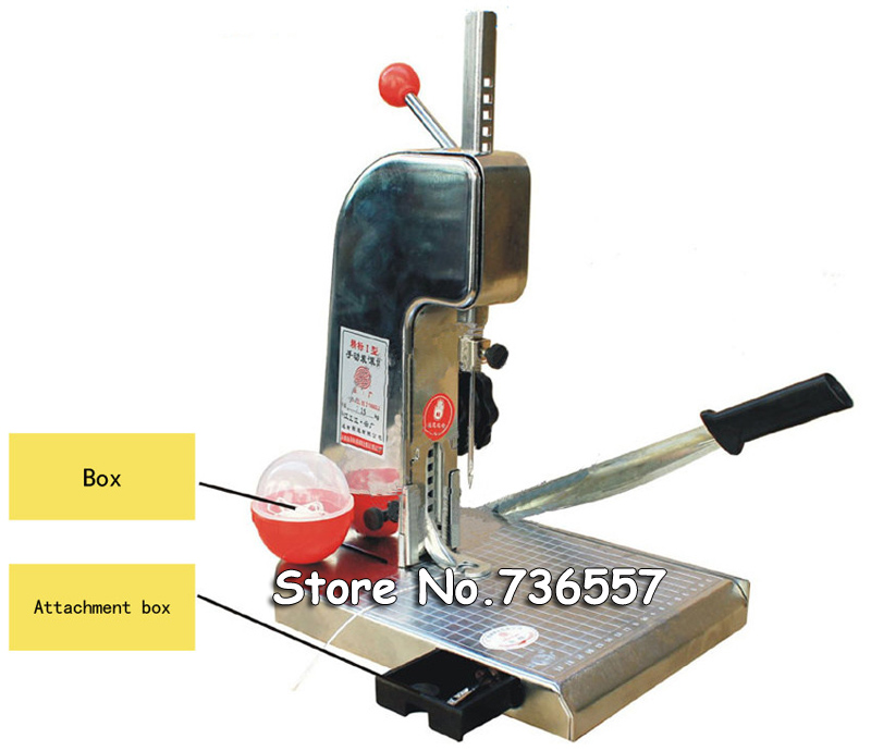 1PC manual book binding machine with knife , financial credentials, document, archives binding machine, manual drill deli 3881 affordable financial document binding machine