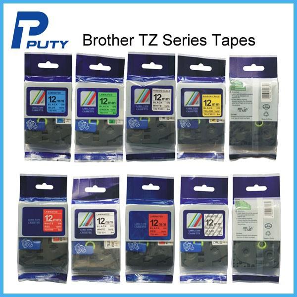 Prix pour Mixte Frère tze bande 12mm tze 231 tze 631 tz 431 tz131 pour P-touch imprimante PT-D200 PT-E100