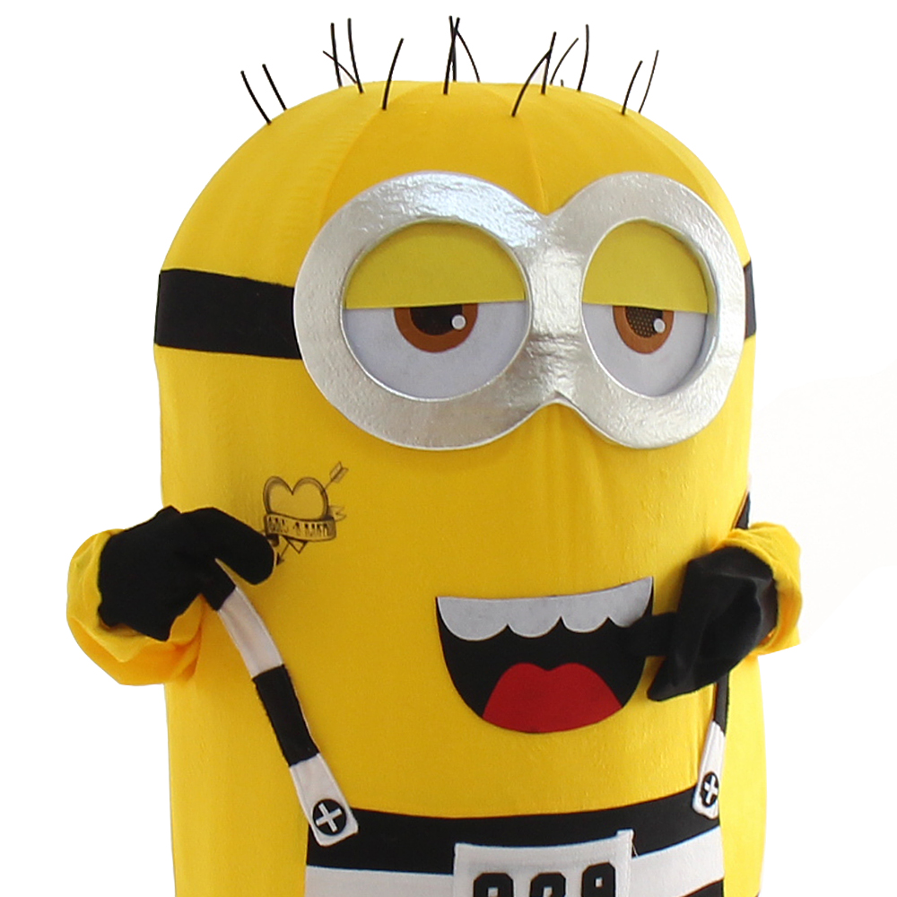 Minions Mascot Costume Fancy Dress Outfit  for Halloween party event