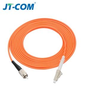 Image 4 - 10pcs 1Gb OM2 LC LC Fiber Cable Multimode Duplex 2.0 3.0mmFiber Optic Patch Cord LC FC LC SC LC ST Multimode Simplex Fiber Cable