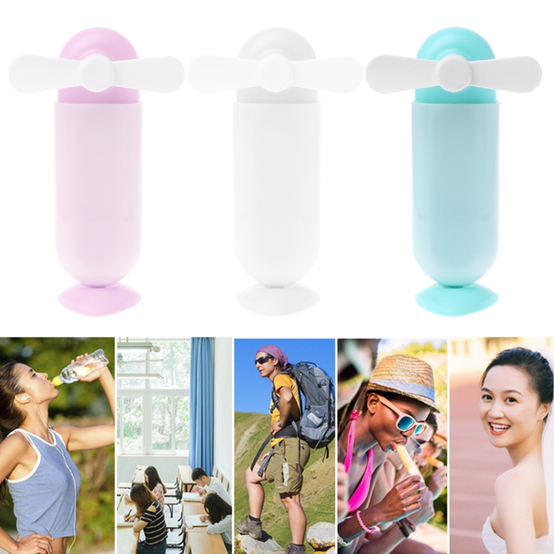 Free_on Handheld Mini Fan USB Portable Extendable Rechargeable Desk Cooler Air Conditioner Travel Office Home Cooling Fan handheld cartoon mini fan usb portable fan for home outdoor desk rechargeable air conditioner with 1200ma rechargeable battery