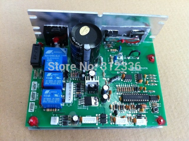 цена на Free Shipping ZHKQSI-CP1.PCB SHUA OMA brother brand treadmill motor controller circuit board motherboard driver control board