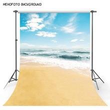 사진 배경 해변 10x10 웨딩 홀리데이 사진 배경 푸른 하늘 흰 구름 야외 Fondo Photocall 정의