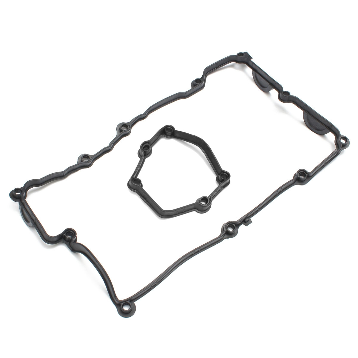 Car Rocker Cam Cover Gaskets Black For Bmw E46 316i 316ci