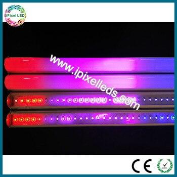 DC5V/DC12 hohe qualität rgb LED hürde licht/LED geländer rohr RGB led hürde rohr 120 led/2 Mt