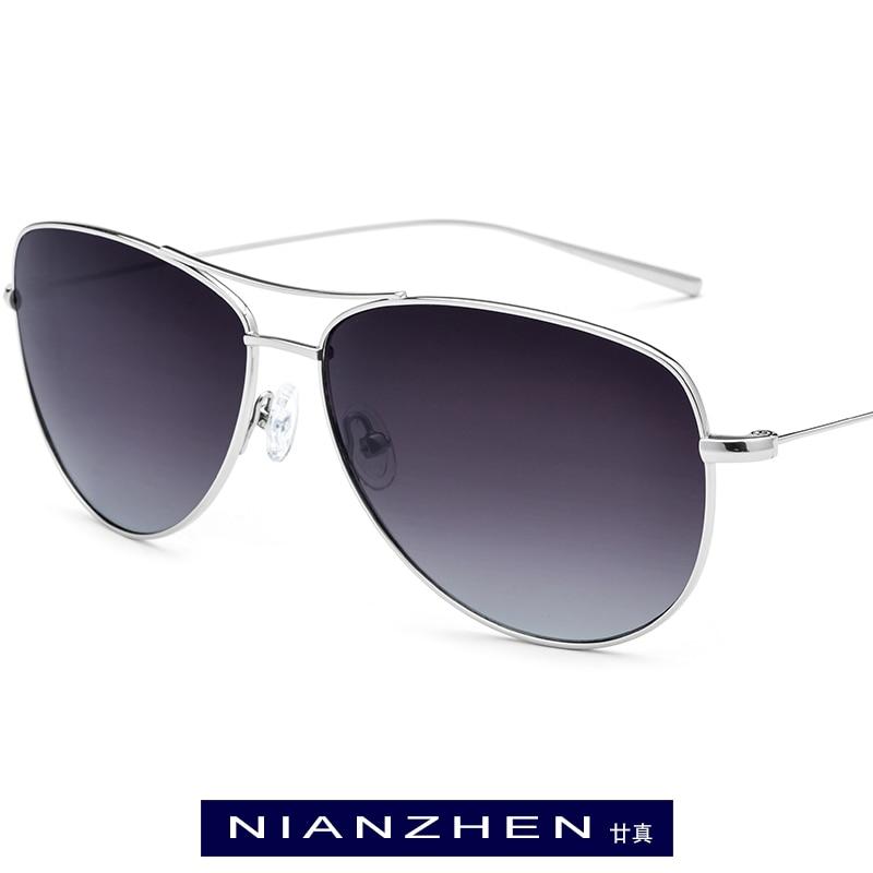 B Titanium Sunglasses Men Brand Designer Oversize Aviador Mirror Polarized Sunglass New Aviation Sun Glasses For Men Shades 3001