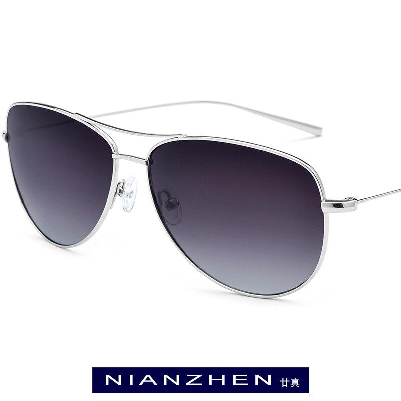 B titane lunettes de soleil hommes marque Designer surdimensionné Aviador miroir lunettes de soleil polarisées nouveau Aviation lunettes de soleil pour hommes nuances 3001
