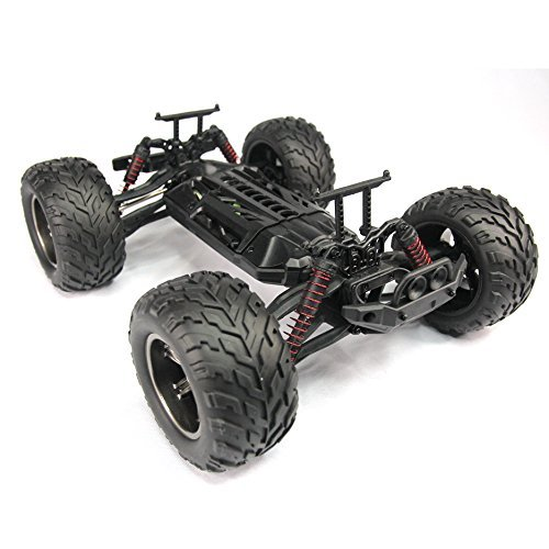 45Kmh 2.4 Ghz Drift Carrinho Controle Bigfoot Speed Gasoline Remote Control Monster Car
