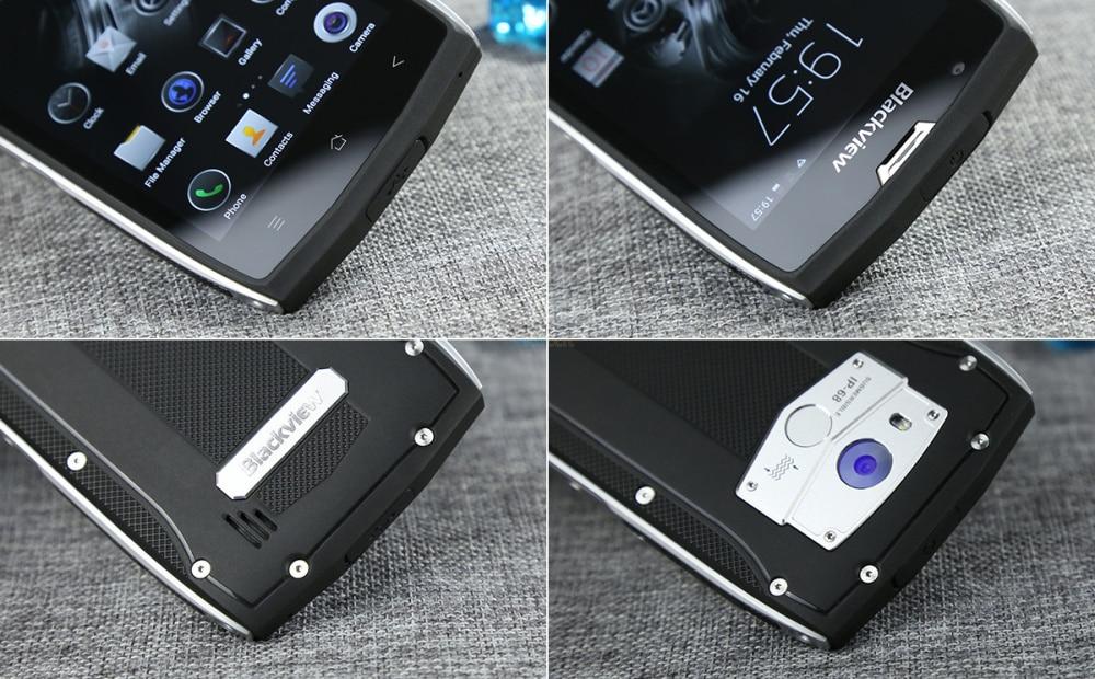 2017 téléphone portable étanche robuste Blackview BV7000 Pro IP68 MT6750T Octa Core 5 FHD 4G + 64G GPS 4G lte Smartphone - 5