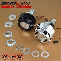 Car Styling LHD RHD 2 5 Inches Mini WST HID Bi Xenon Projector Lens Headlight Black