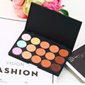 Wholesale 15 Colors Professional Makeup Concealer Palette Party Contour Palette Maquiagem Face Cream Women Palette