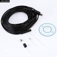 Newest 9mm Dia USB Endoscope 2mp Endoscope 6led 1600x1200 Borescope USB Insepction Camera 2m 5m 7m