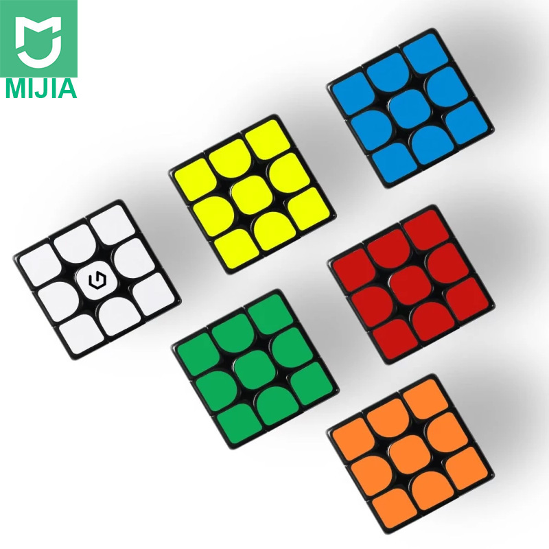 Xiaomi Mijia Giiker M3 Magnetic Cube 3x3x3 Vivid Color Square Magic Cube Puzzle Science Education Not Work With Giiker App